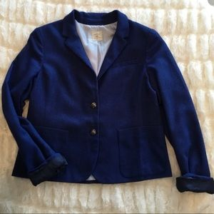 GAP The Academy Blazer Jacket With Elbow Patches